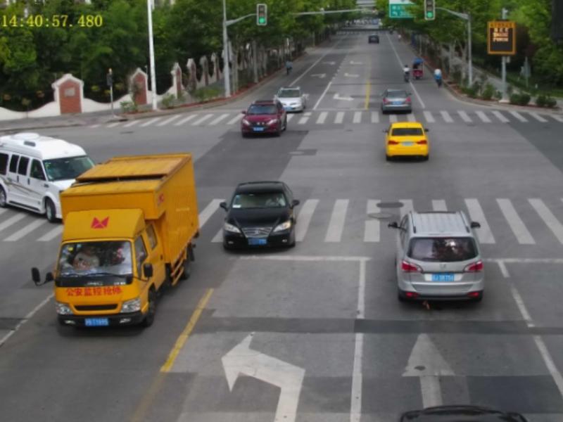 智能路口复合电警交通违法抓拍